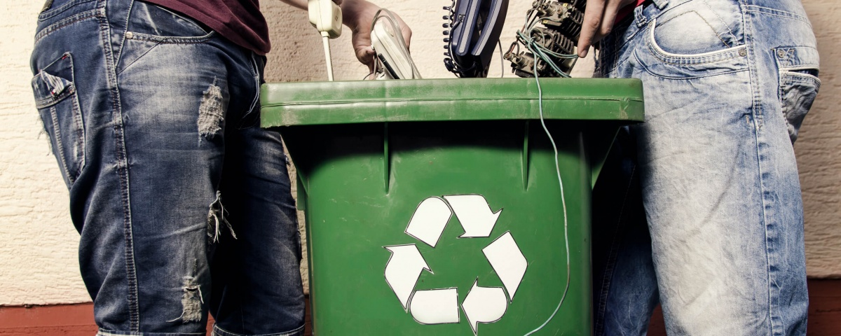 Samsung - electronics recycling bin