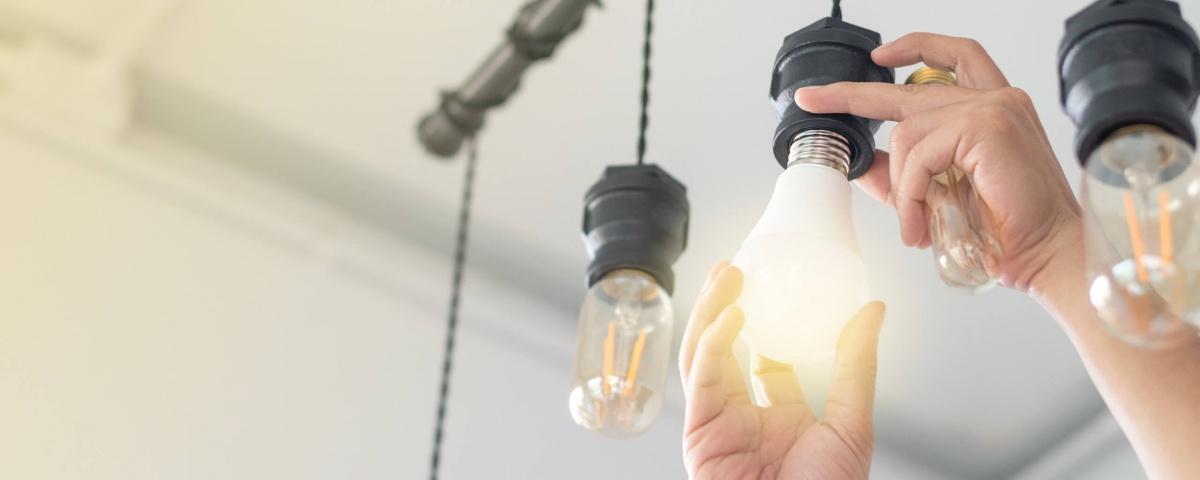AFT - changing light bulbs