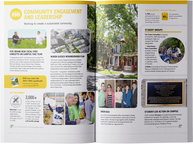 UofT Sustainability Yearbook